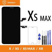 Grade OEM For iPhone XS Max LCD Display With Touch Screen Digitizer Replacement Assembly Parts Black(China)