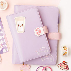 Image 2 - Yiwi A5 A6 Macaron Spiral Notebook 2019 Planner Agenda Organizer Diary Book School & Office Supplies Stationery