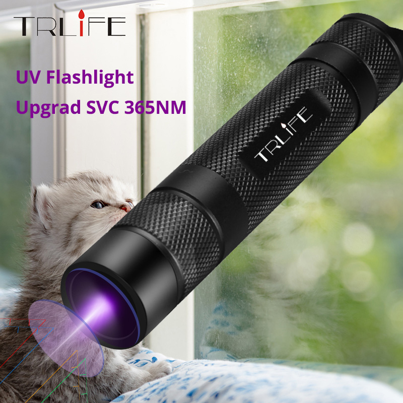 TRLIFE 100W Super Bright Led UV Flashlight 18650 Uv Torch Scorpion Ultra Violet Light Ultraviolet Light Upgrade UV Lamp Beads