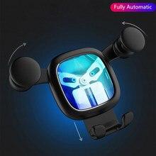 Soporte de gravedad para teléfono de coche, soporte de ventilación de aire para iPhone 12 11 Pro 8 Samsung, No magnético, GPS