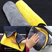 3 größe Auto Handtuch Auto Pflege Polieren Heißer Super Saugfähigen Auto Waschen Tuch Mikrofaser Handtuch Reinigung Trocknen Tücher Lappen Detaillierung neue