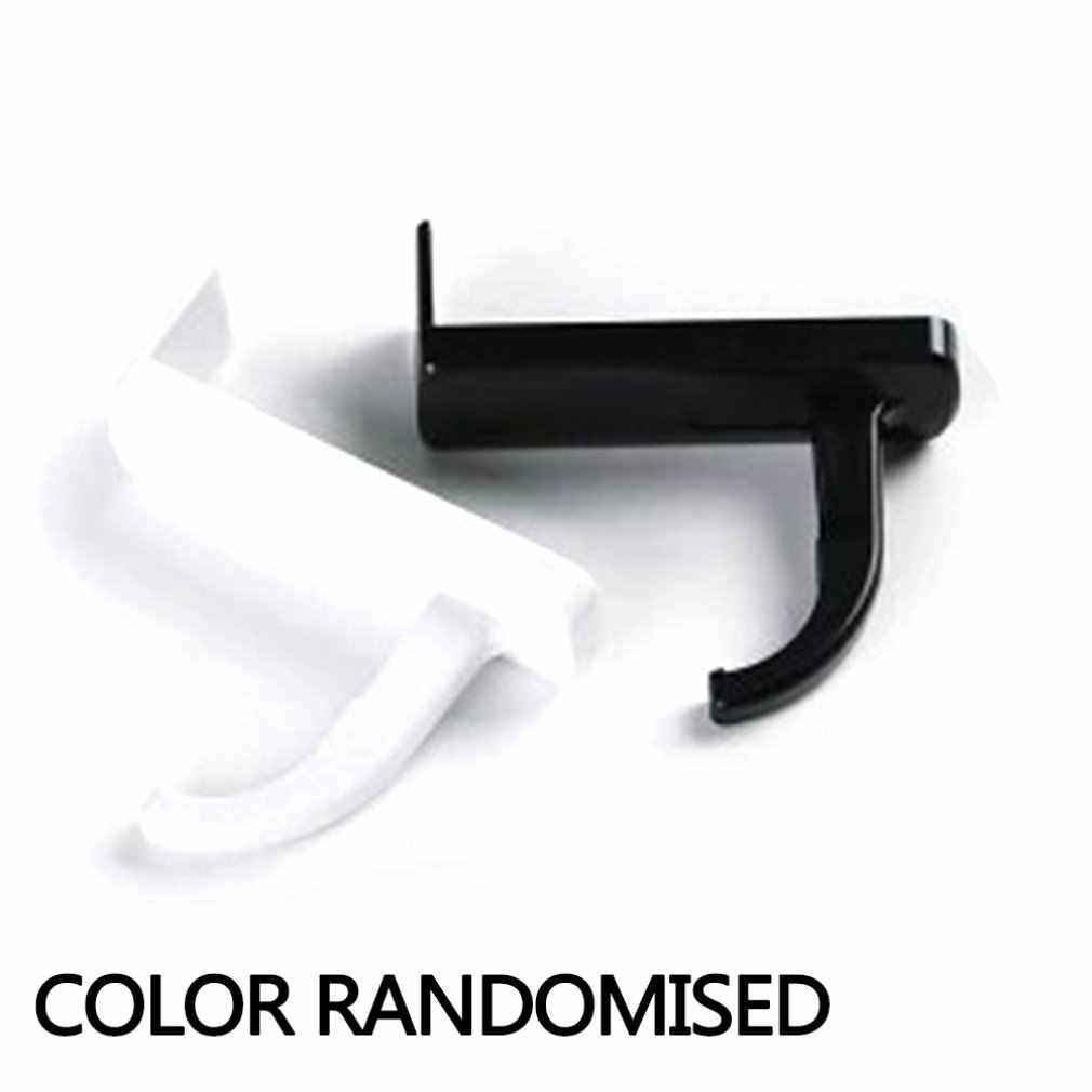 Kualitas Tinggi Portable Stand Universal Headphone Headset Hanger Lem Bracket Hook PC Gantungan Aksesoris