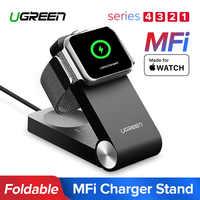 Ugreen chargeur sans fil pour Apple Watch chargeur pliable MFi certifié chargeur 1.2m câble pour Apple Watch Series 4/3/2/1 chargeur