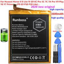 3600 mAh Nova Original Bateria Para Huawei Ascend P9 P9 HB366481ECW Lite G9 Honra 8 5C G9 7A Honra Pro AUM AUM-AL29 AL29 Bateria