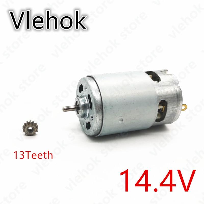 13 Teeth 14.4V Motor Replace For BOSCH GSR14.4-2-LI PSR 14.4 Li-2 PSR14.4LI-2 PSR1440LI-2 GSR 14.4-2-li Drill Engine Power Tool