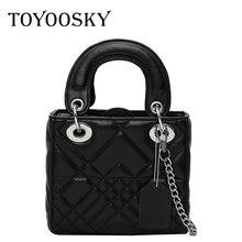 TOYOOSKY Women PU leather Handbag Flap Bags Female Designer Shoulder Messenger Bag Top-Handle Women Small Tote Crossbody Bags недорого