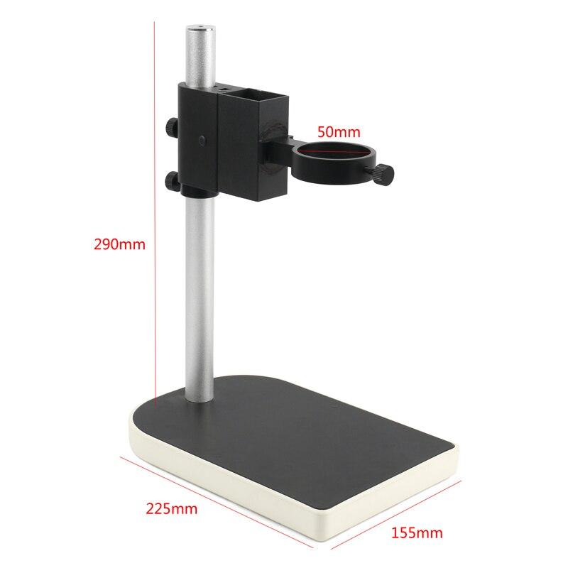 Lab กล้องจุลทรรศน์วิดีโอกล้องเลนส์ปรับโฟกัสวงเล็บโฟกัสผู้ถือขาตั้ง 40 มม.50 มม.สำหรับ HDMI USB วิดีโอ...