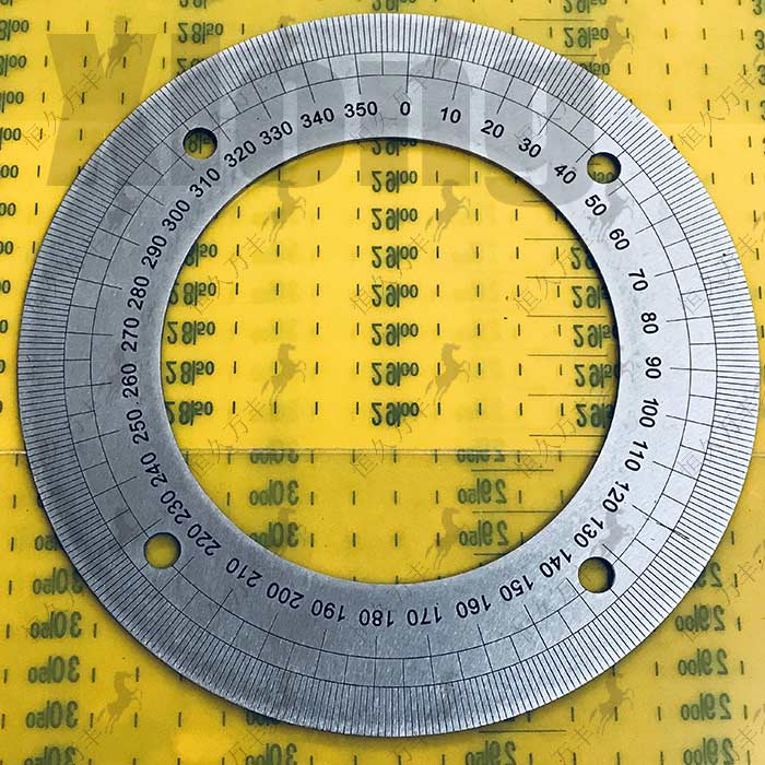 Outer Diameter: 180mm Dial Stainless Steel Angle Plate Mechanical Parts 360 Degree Disc 180 # 112 # 2 # 8 # 144