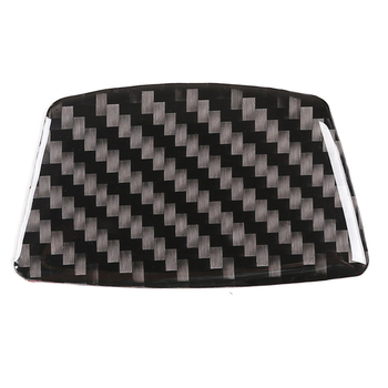 Car Universal Carbon Fiber Side Door Window Middle-Pillar, Wheel Eyebrow, Rear Trunk Anti Scratch Cover Trim 6.5*4.5cm image