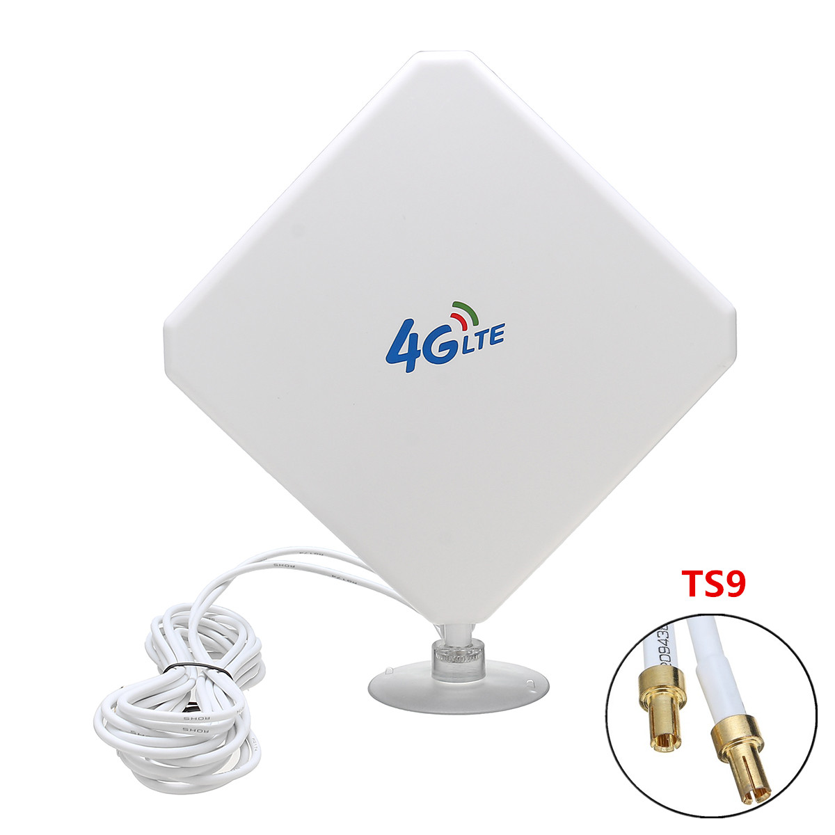 4G LTE Antenna 35dBi High Gain Amplifier Wifi Repeater Mobile Signal Booster Wireless Network Expander Routers TS9 Connector