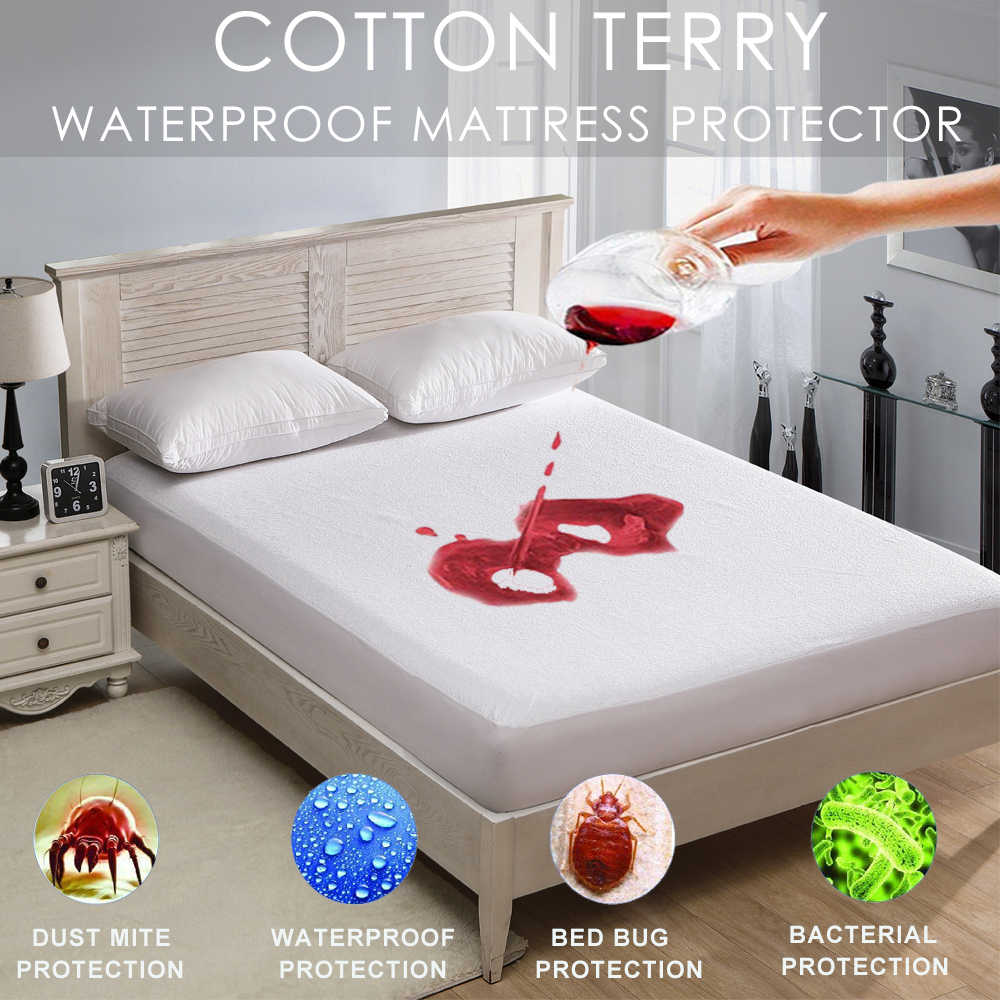 Lfh 140x200cm Cotton Terry Matress