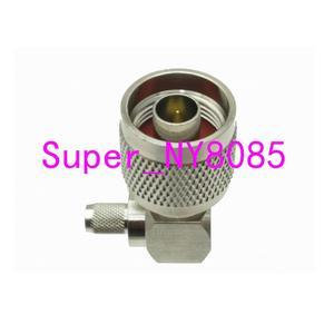 Image 4 - 10pcs Connector N male Plug crimp RG58 RG142 LMR195 RG400 cable right angle