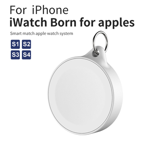 Image 4 - Portatile Chiave Dellanello Della Vigilanza Senza Fili del Caricatore Cavi USB per Apple iWatch Serie 5 4 3 2 1 2W Wireless ricarica veloce per iWatch 5 4 3