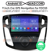 2 + 32/2 + 16 9 inç Android 10 multimedya oynatıcı araba radyo 2012 2013 2014 2015 Ford Focus stereo desteği Bluetooth WIFI USB OBD2