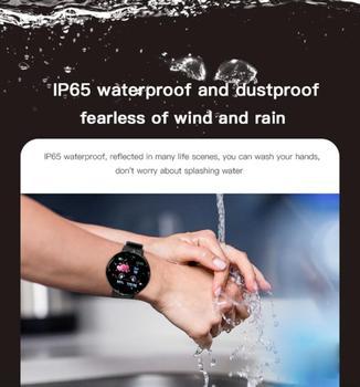 D18S Smart Watch Man Women Fitness Blood Pressure Heart Rate Monitor Pedometer Fashion Watches Sports Waterproof SmartWatch 4