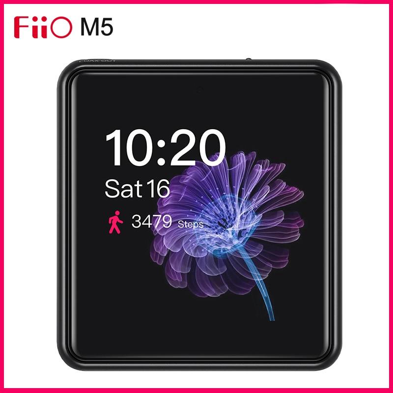 FiiO M5 reproductor de Audio Ultra portátil de alta resolución AK4377 DAC soporte USB DAC Función de contador de pasos