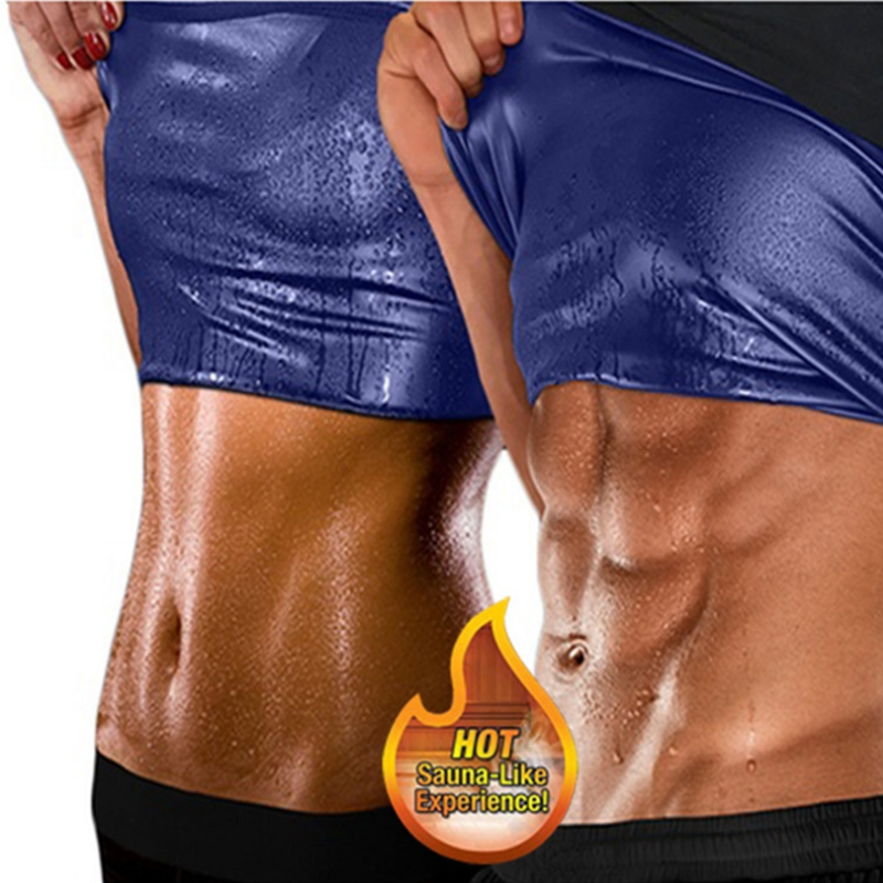 New Men Women Hot Body Fat Burning Sweat Shaper Sauna Fitness Vest Gym Tank Top Yoga Shirts Suit For Slimming Weight Loss