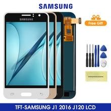ЖК-дисплей 4,5 ''J120 для Samsung Galaxy J1 2016, ЖК-дисплей с сенсорным экраном и дигитайзером в сборе для Samsung J120, J120F, J120H, J120M