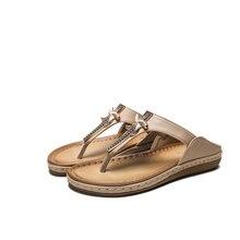 Лето женщины 2020 мода сандалии свободного покроя удобные сексуальный анти-скольжения флип-флоп пляж Богемия Sandalias обувь тапочки
