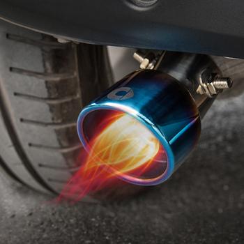 Dla Smart 453 Fortwo Forfour pasja rura wydechowa samochodu remont stal nierdzewna ogon gardła dekoracja do samochodu głowica wydechowa Car Styling tanie i dobre opinie TOONIES Smart- exhaust head Stainless steel