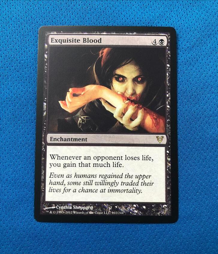 Exquisite Blood	AVR Magician ProxyKing 8.0 VIP The Proxy Cards To Gathering Every Single Mg Card.