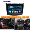For Lexus IS250 IS300 IS250 300 2006 2007 2008 2009 2010 2013 Android multimedia player Car touch screen GPS Navigation Support