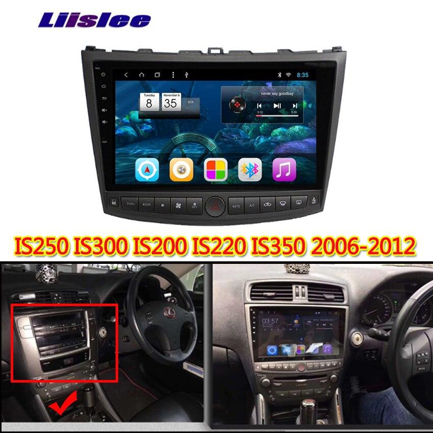 Lecteur multimédia pour Lexus IS250 IS300 IS250 300 2006 2007 2008 2009 2010   Lecteur multimédia, Android écran tactile de voiture, Support de Navigation GPS