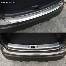 Stainless Steel Exterior Interior Rearguards Rear bumper Trunk Trim Bumper Pedal For Nissan Qashqai j11 2016 2017 2018 car cover stainless steel outside rear back bumper trim plate trunk frame threshold pedal for nissan qashqai 2016 2017 2018