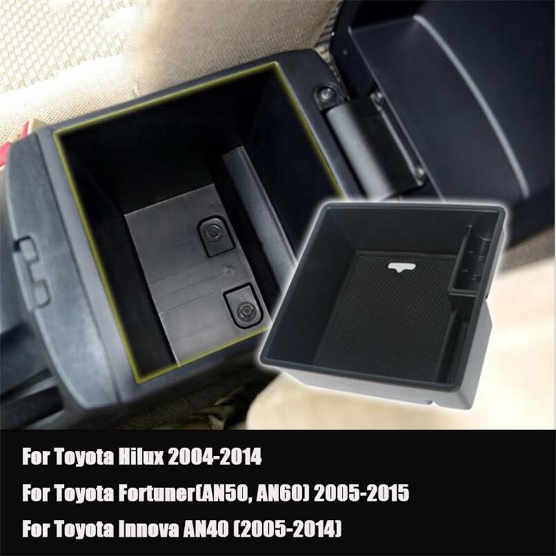 Storage Box Organizer for Armrest Center Console Q3 2013-2018 Automatic