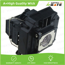 цена на High Brightnes and quality Projector lamp ELPLP64 V13H010L64 for D6155W/D6250/EB-1840W/EB-1850W/EB-1860/EB-1870/EB-1880/EB-935W