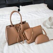 Модная женская сумка Новая Большая сумка Корейская версия женской сумки дикая трендовая сумка для мамы Женская сумка из трех частей