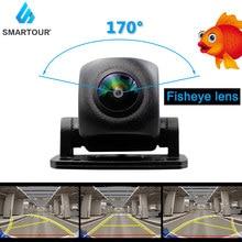 Smartour HD 1080P Fisheye Lens Car Reverse Backup Rear View Camera Dynamic Trajectory Parking Line Vehicle Parking Track Camera