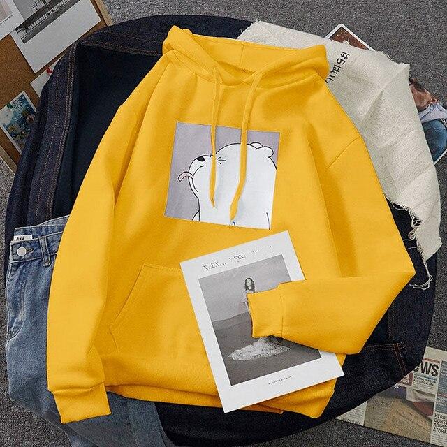 Oversized Women Sweatshirts Tops Kangaroo Pocket Hot Sale Clothes Spring Casual Vintage Pullovers Hoodies Women Loose Tops #3 4