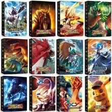 9 poches 432 Pièces Album Pokemon Porte-Carte Liant D'anime de Bande Dessinée Carte Jeu Livre Dossier Chargé Liste Collection Enfants Jouet Cadeau