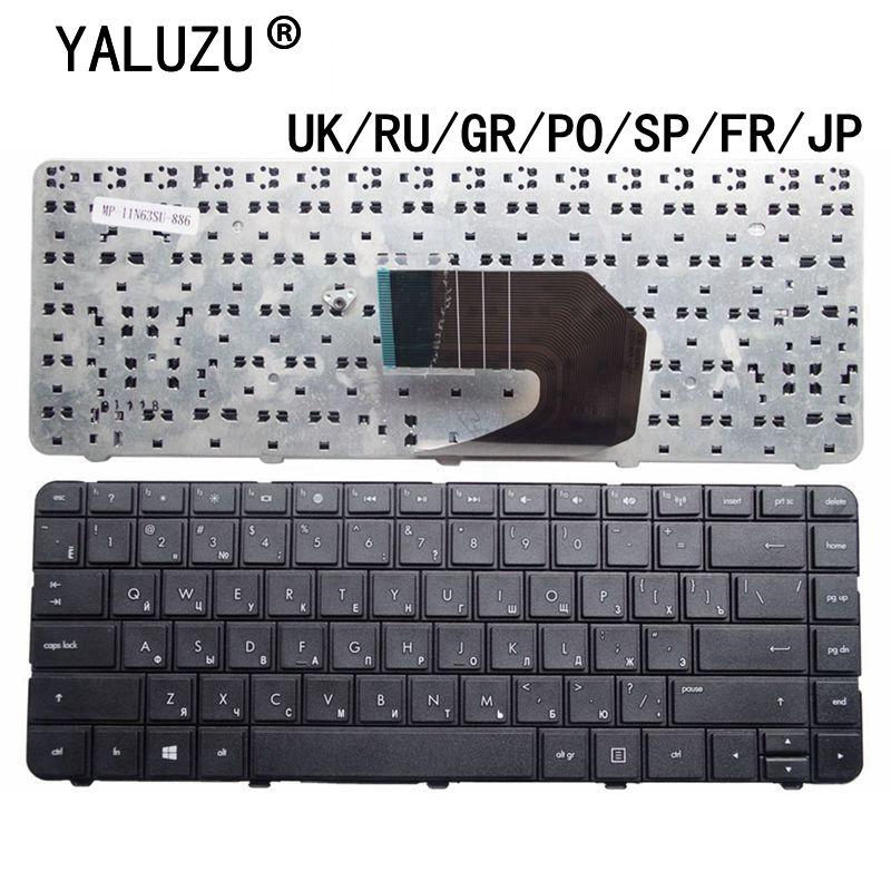 UK/RU/гр/PO/SP/FR/JP клавиатура для ноутбука HP Pavilion G4 G4-1000 G43 G6 G6-1000 G6S G6T G6X G57 430 450 431 435 436 635 630S