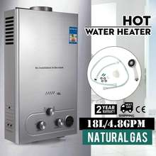 Vevor 18l 48gpm 36 кВт безрезервуарный бойлер водонагреватель