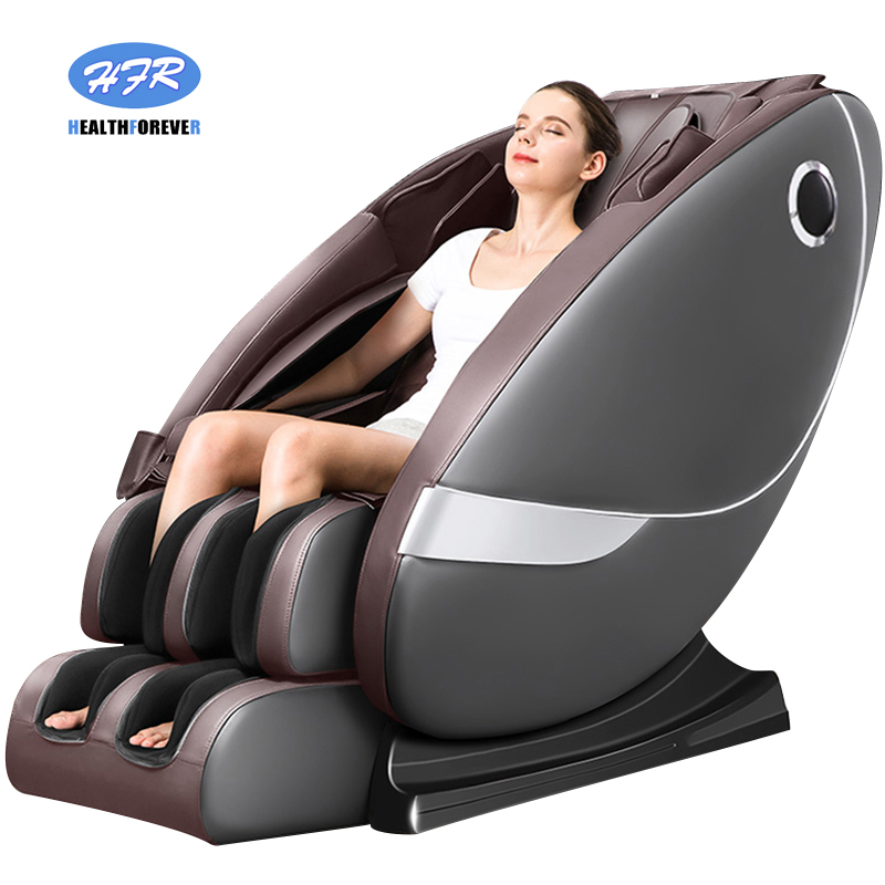 Home Automatic Intelligent Space  Cabin Small New Old Man Luxury Relax Cheap Electric Zero Gravity Full Body 4d Massage Chair 3d