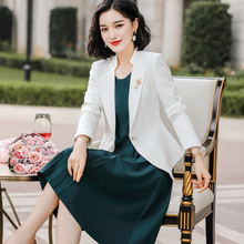 Fall 2019 New Fashion Professional Clothing Two-piece Skirt 2 piece set women  two dress sweatsuits for