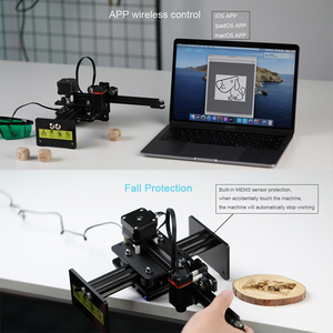 Image 3 - NEJE Master 2 Mini CNC Laser Engraver High Speed Small Engraving Carving Machine Smart Wireless APP Control DIY Laser Logo Mark