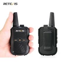 Mini Walkie Talkie 1 or 2 pcs Retevis RT15 Portable Two Way Radio FRS Radio Communicator Walkie Talkies for hotel Restaurant PTT