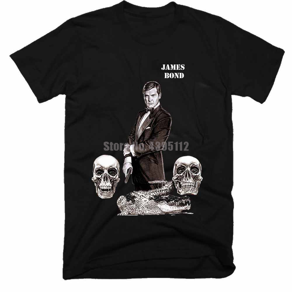 James Bond Movie Man'S Carnival Shirts Custom T Shirts Firefighter Tshirt Gothic T-Shirt For Fitness Rmvdma image
