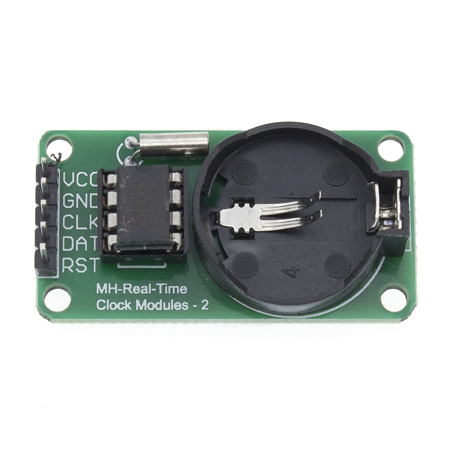 10 teile/los DS1302 <font><b>Real</b></font> Time Clock Module mit CR2032 Taste Batterie 31x8 RAM image