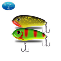 95mm 40g  Pencil Lure Jerk Bait luminous Lure size Artificial Bait Fishing Lure Little darling middle with Mustad Hook|Fishing Lures|Sports & Entertainment -