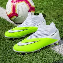 Turf Cleats Soccer Shoes Football-Boots Sports-Sneakers Zapatos-De-Soccer Training Kids
