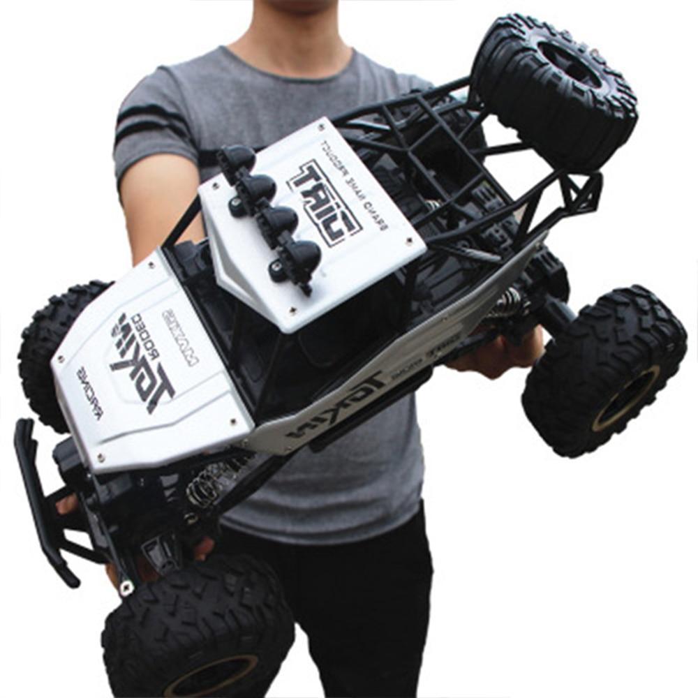 1:12 4WD RC voiture mise à jour version 2.4G radio télécommande voiture voiture jouet voiture 2017 haute vitesse camion tout-terrain camion enfants jouets 3