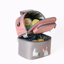 Food-Carrier Backpack Insulated-Bag Double-Layer Milk-Storage Maternity-Cooler Breast