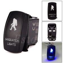 12V / 24V Voiture Bateau Bleu LED SASQUATCH LIGHTS Rocker Toggle Switch Boutons interrupteurs