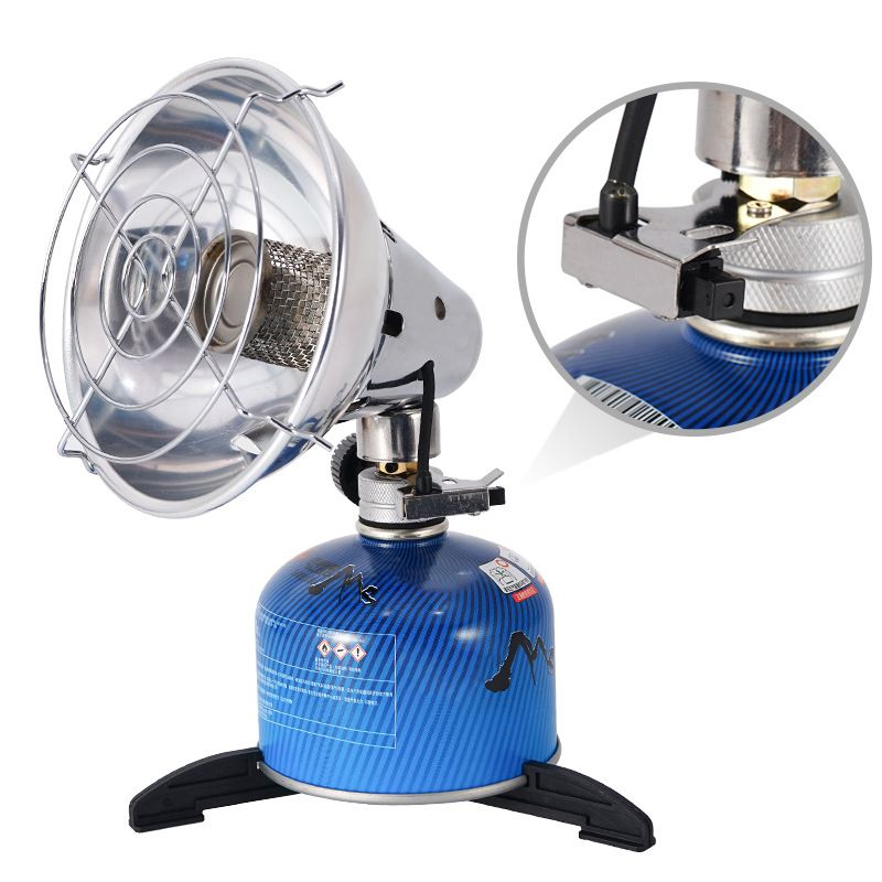 Portable Gas Heater Heating Outdoor Camping Stove Keep Warm Fishing Hunting Propane Butane Tent Heater With Stand
