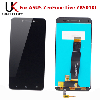 Tested One By One LCD For ASUS ZenFone Live ZB501KL LCD Display Screen Touch Digitizer Panel Assembly|Mobile Phone LCD Screens| |  -