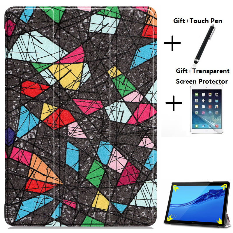 New arrival Slim Tablet Case for Huawei MediaPad M5 Lite 10 Stand Cover Case for M5